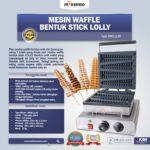 Jual Mesin Waffle Bentuk Stick Lolly (LL40) di Bandung