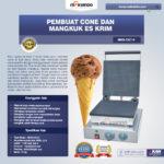 Jual Pembuat Cone dan Mangkuk Es Krim (CIC14) di Bandung
