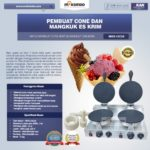 Jual Pembuat Cone dan Mangkuk Es Krim (CIC22) di Bandung