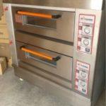 Jual Mesin Oven Roti Gas 2 Rak 4 Loyang (GO24) di Bandung
