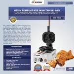 Jual Mesin Kue Waffle Ikan Taiyaki – Gas (TYK02) di Bandung
