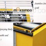 Jual Mesin Pemanggang Sate – BBQ 6 Tungku (Gas) di Bandung