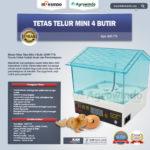 Jual Tetas Telur Mini 4 Butir (AGR-TT4) di Bandung