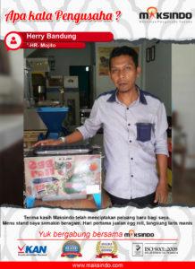 Egg Roll Pak Herry : Berkat Mesin Egg Roll Maksindo, Usaha Saya Jadi Laris Manis