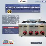 Jual Counter Top 4-Burner Gas Range di Bandung