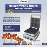 Jual Mesin Butterfly Shaped Waffle Maker (MKS-BFLYW12) di Bandung
