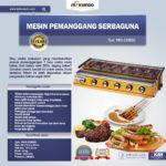 Jual Pemanggang BBQ Stainless (gas) 6 Tungku di Bandung