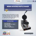 Jual Mesin Rotating Waffle Maker (MKS-RTW01) di Bandung