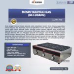 Jual Mesin Takoyaki Gas (84 Lubang) di Bandung