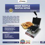Jual Mesin Waffle Bentuk Kotak (WF-60) di Bandung