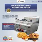 Jual Counter Top 2-Tank 2-Basket Gas Fryer di Bandung