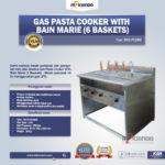 Jual Gas Pasta Cooker With Bain Marie (6 Baskets) MKS-PCBM6 di Bandung