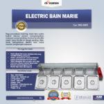 Jual Electric Bain Marie (Penghangat Makanan) MKS-BMR5 di Bandung