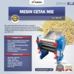 Jual Mesin Cetak Mie MKS-200 di Bandung
