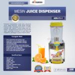 Jual Mesin Juice Dispenser (ADK-17×1) di Bandung