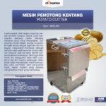 Jual Mesin Perajang Keripik Kentang dan French Fries di Bandung