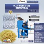 Jual Mesin Cetak Mie Industrial (MKS-500) di Bandung