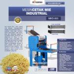 Jual Mesin Cetak Mie Industrial (MKS-800) di Bandung