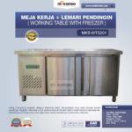 Jual Meja Kerja + Lemari Pendingin (Working Table With Freezer) MKS-WTS201 di Bandung