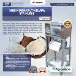Jual Mesin Pemarut Kelapa Stainless PRT-125 di Bandung