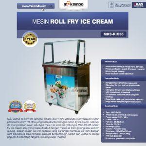 Jual Mesin Roll Fry Ice Cream (RIC36) di Bandung