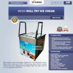 Jual Mesin Roll Fry Ice Cream RIC50 di Bandung