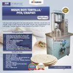 Jual Mesin Roti Tortilla/Pita/Chapati – TRT44 di Bandung