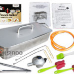 Mesin Egg Roll Gas 2in1 Plus Fryer ERG007 Maksindo