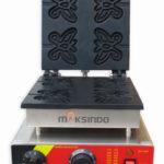 Jual Mesin Waffle Maker Bentuk Kupu-Kupu (Butterfly) MKS-BFLYW23 di Bandung