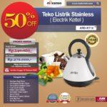 Jual Teko Listrik Stainless (Electrik Kettel) ARD-KT12 di Bandung