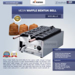 Jual Mesin Waffle Bentuk Bell (MKS-BELL5) di Bandung