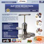 Jual Alat Cetak Mie dan Pasta Manual Stainless (ARDIN) di Bandung