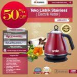 Jual Teko Listrik Stainless (Electrik Kettel) ARD-KT11 di Bandung