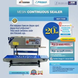 Jual Mesin Band Sealer (Contonuous Sealer) di Bandung