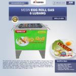 Jual Mesin Egg Roll Gas 6 Lubang GRILLO-GS6 di Bandung