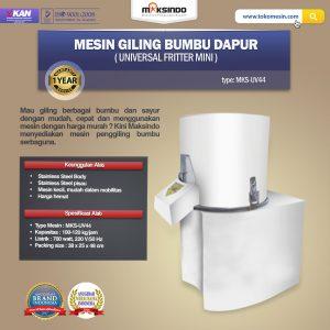 Jual Mesin Giling Bumbu Dapur (Universal Fritter Mini) MKS-UV44 di Bandung