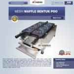 Jual Mesin Waffle Bentuk Poo (MKS-POO4) di Bandung