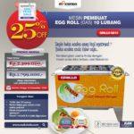 Jual Egg Roll Gas 10 Lubang GRILLO-GS10 di Bandung