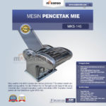 Jual Mesin Cetak Mie (MKS-145) di Bandung