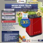 Jual Mesin Sosis Telur 4 Lubang Grillo-400 di Bandung