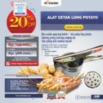 Jual Alat Cetak Long Potato MKS-LPCT30 di Bandung