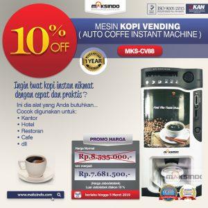 Jual Mesin Kopi Instant (Auto Coffee Instant Machine) di Bandung