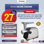 Jual Mesin Giling Daging (Meat Grinder) MHW-G51 di Bandung