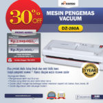 Jual Mesin Vacuum Sealer (DZ-280A) di Bandung