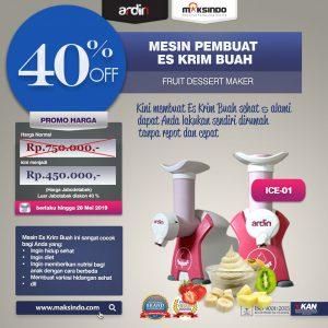 Jual Mesin Es Krim Buah Rumah Tangga di Bandung