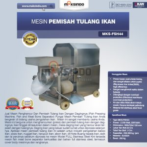Jual Mesin Pemisah Tulang Ikan (FSH44) di Bandung
