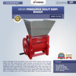 Jual Mesin Pengupas Kulit Kopi Basah Type AGR-PLP50 di Bandung