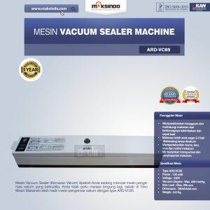 Jual Mesin Vacuum Sealer Machine ARD-VC85 di Bandung
