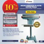 Jual Mesin Sealer Plastik Pedal Sealer di Bandung