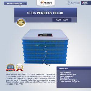 Jual Mesin Penetas Telur AGR-TT720 Di Bandung